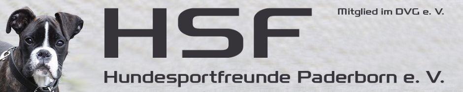 HSF Paderborn e.V. | Hundeschule Paderborn